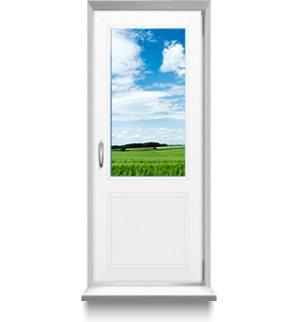 Дверь ПВХ террасная